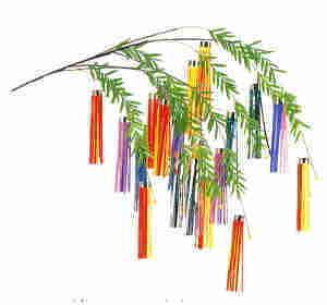 七夕飾り、七夕用品、吹流し ... : 笹飾り 作り方 : すべての講義